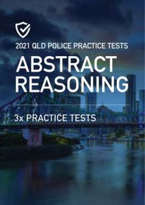 Cover image of the Abstract Reasoning Queensland Police Practice Tests