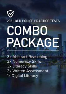 Cover image of the Combo Package Queensland Police Practice Tests