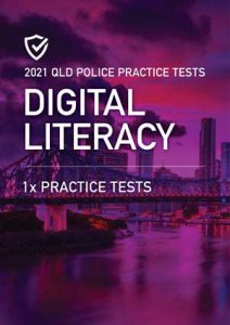 Cover image of the Digital Literacy Queensland Police Practice Exams