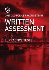 Cover image of the Written Assessment Queensland Police Practice Tests